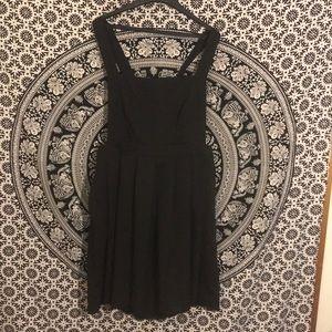 Sunny Girl Black Bib Dress 2XL